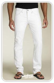 jean blanco ¿Cómo combinar pantalones blancos?