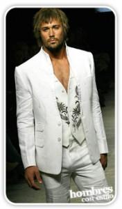 traje blanco1 176x300 Traje blanco, ¿te animás?