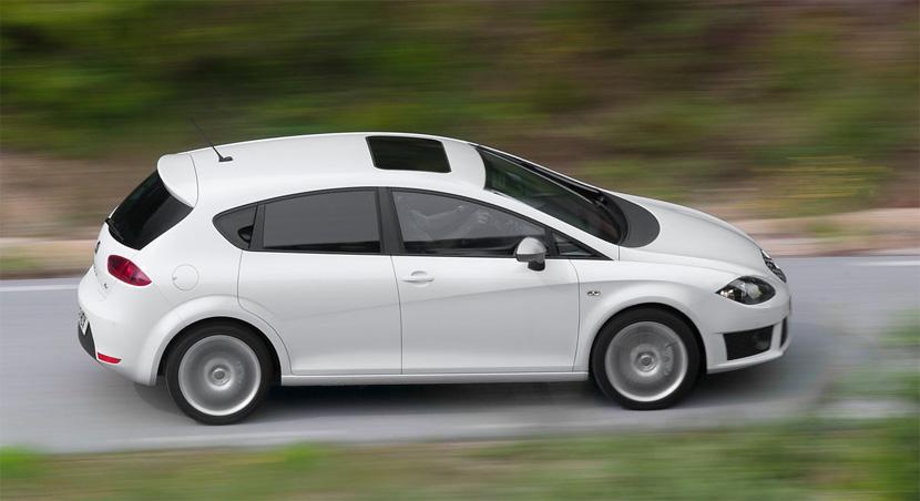 Seat León FR blanco
