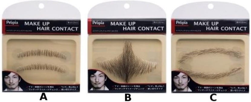 Diferentes Barbas postizas