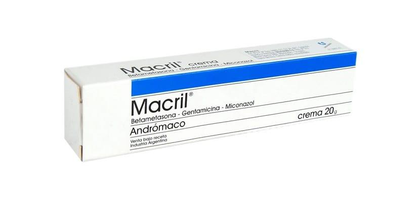 Macril Crema Antihongos