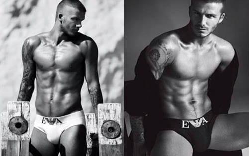 Las esperadas fotos de Beckham para Emporio Armani