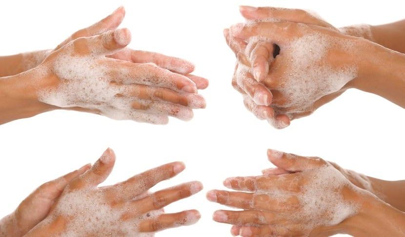 Lavarse bien el cuerpo