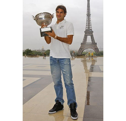 Federer podría ser modelo!!!! Federer2