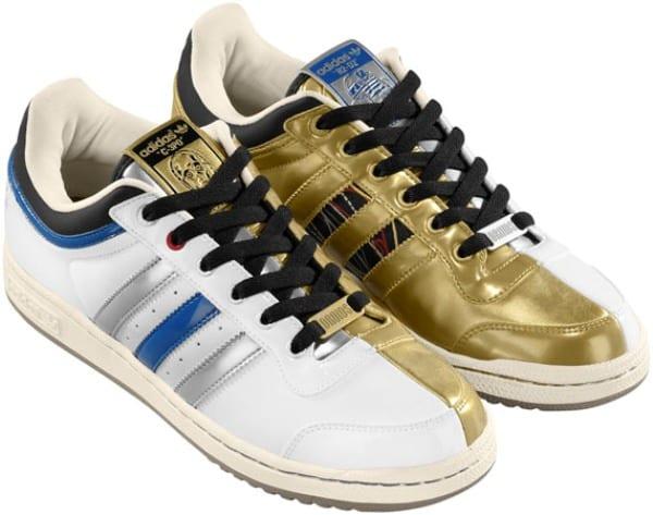 adidas1  Adidas Originals Top Ten Low R2 D2 + C 3PO