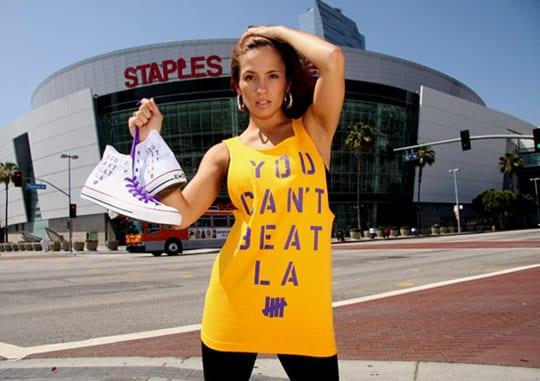 converse1 Converse también va con los Lakers