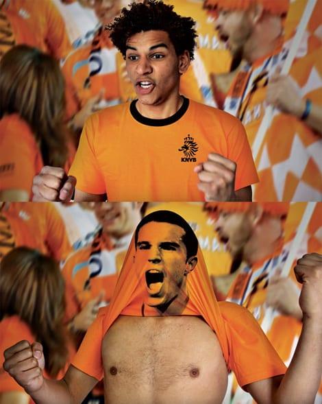 holanda1 Curiosas camisetas de Holanda para el Mundial