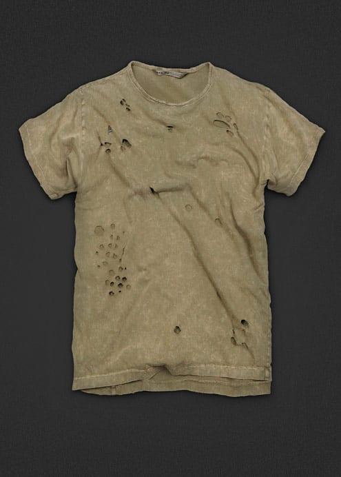 mango Camiseta hecha polvo ya de serie, de HE by Mango