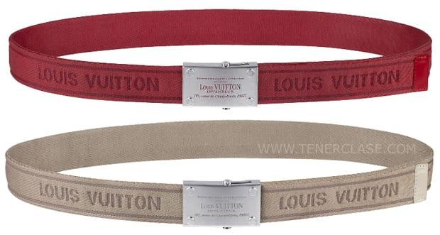 PULPO1 Nuevas versiones del cinturón Bengale de Louis Vuitton