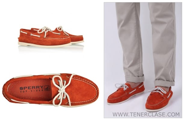 SPERRY Náuticos de Sperry en rojo