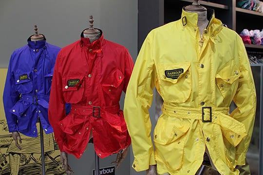Barbour International Yellow