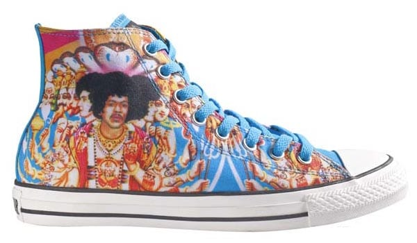 d32 Converse Chuck Taylor edición Jimmy Hendrix
