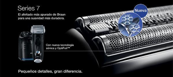 nuevas afeitadoras  Braun Pulsonic