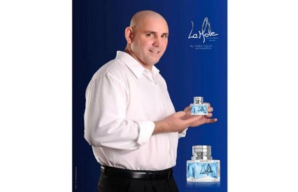 """Perfume del argentino, cordobes, Fabio """"La Mole"""" Moli"""