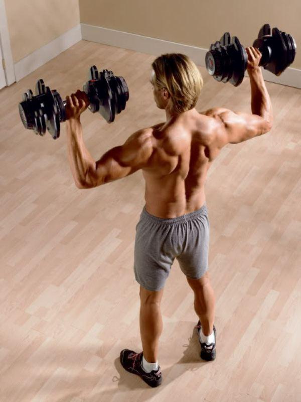 ejercitando musculatura