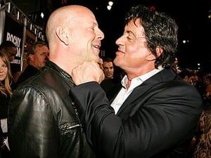 Stallone y Bruce