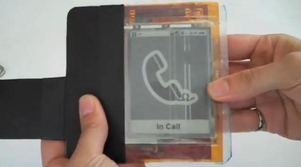 nuevas tecnológias, el paper phone