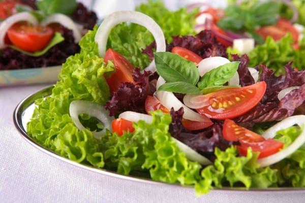 ensalada para comer sano y rápido