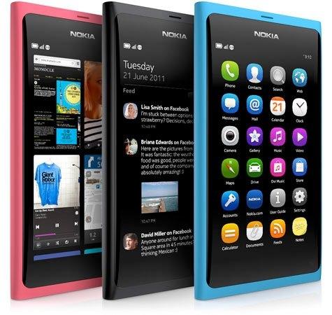 Nokia N9 sistema operativo MeeGo