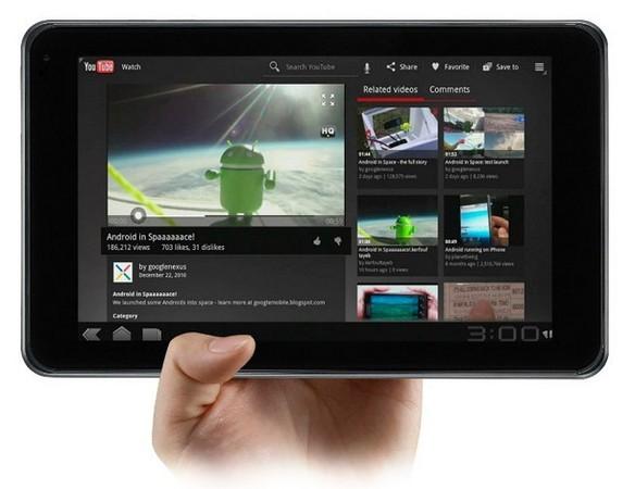 Tablet Optimus de Lg