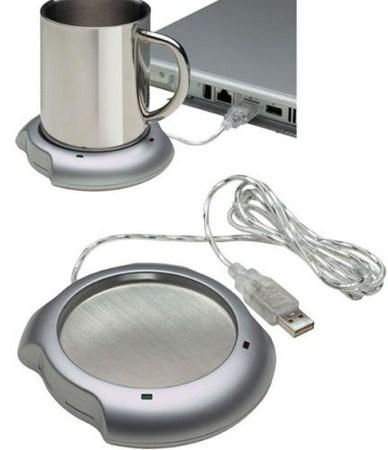 USB calentador