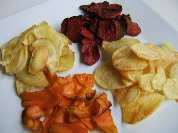 Verduras chips