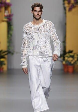 Estilo moda blanca