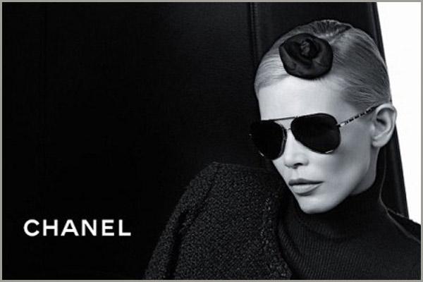 Chanel, avait été un tout en annonçant la collection de lunettes pour l automne  hiver 2011-2012 et est entré par la porte avant de ... 3a24c059bc44