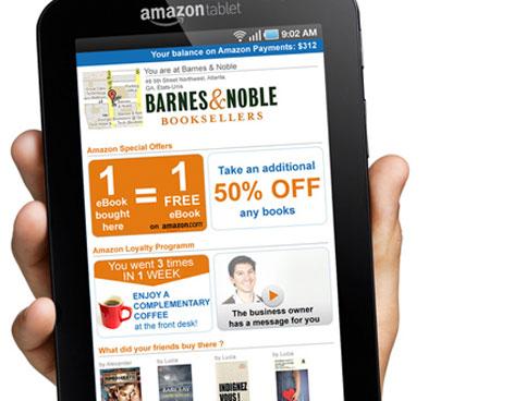 Tableta Kindle