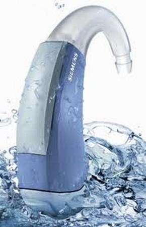 Audifono agua