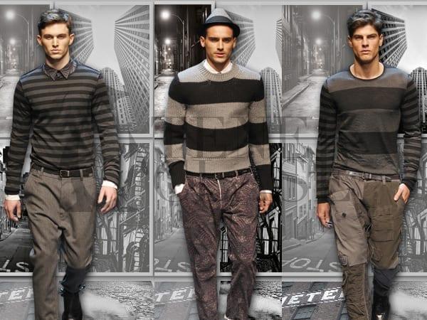 collage31 Dolce & Gabbana otoño invierno 2011 2012: rayas para todos