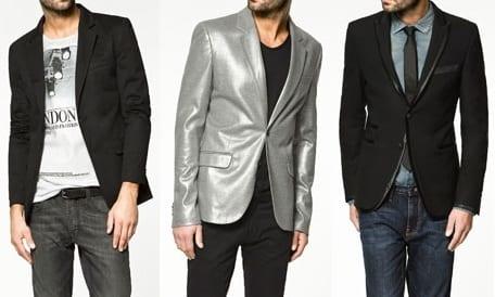 0974a42508180 Propuestas para fiestas  blazers de Zara