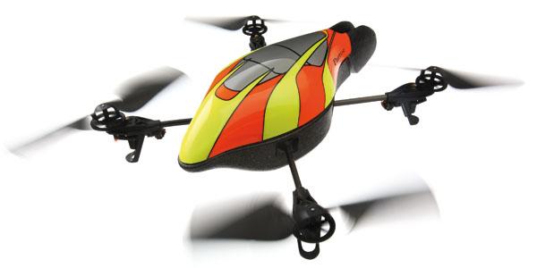 Cuadricoptero volador