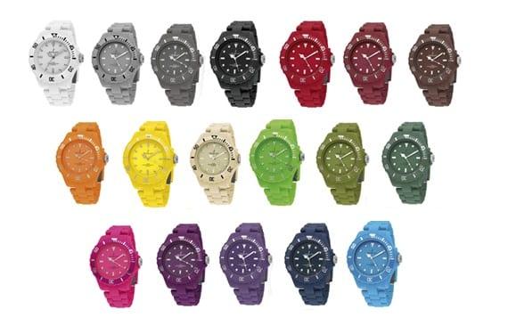 32841dbcbcb7 Relojes de colores Nowley