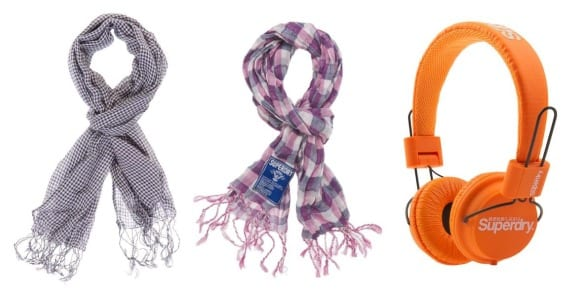 Complementos Superdry