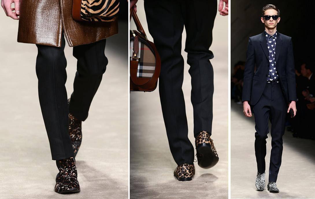 Burberry presenta su colección masculina para el invierno 2014