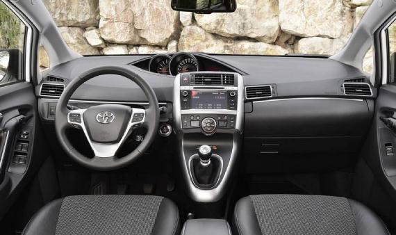 Interior del Toyota