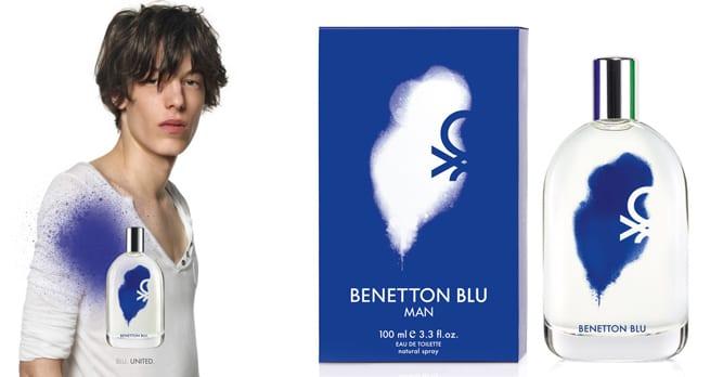 Nuevos perfumes para hombre de Benetton