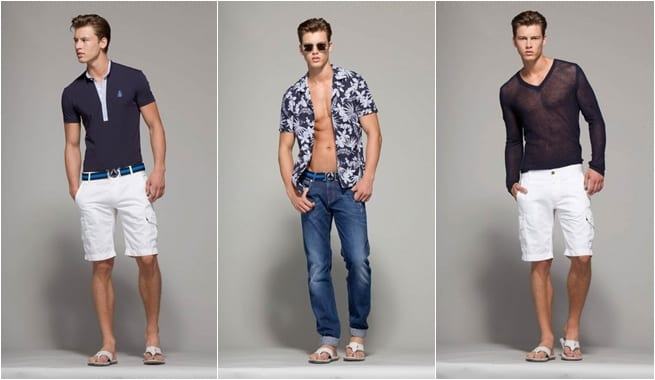 Moda masculina de Moschino para la primavera/verano 2013