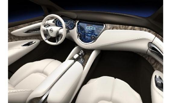 Interior del nuevo Nissan