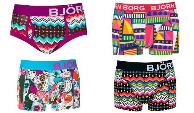 Extravagante colección de ropa interior masculina de Björn Borg