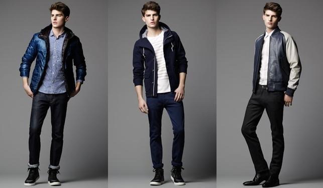 Moda masculina Primavera 2013 de Burberry Black label