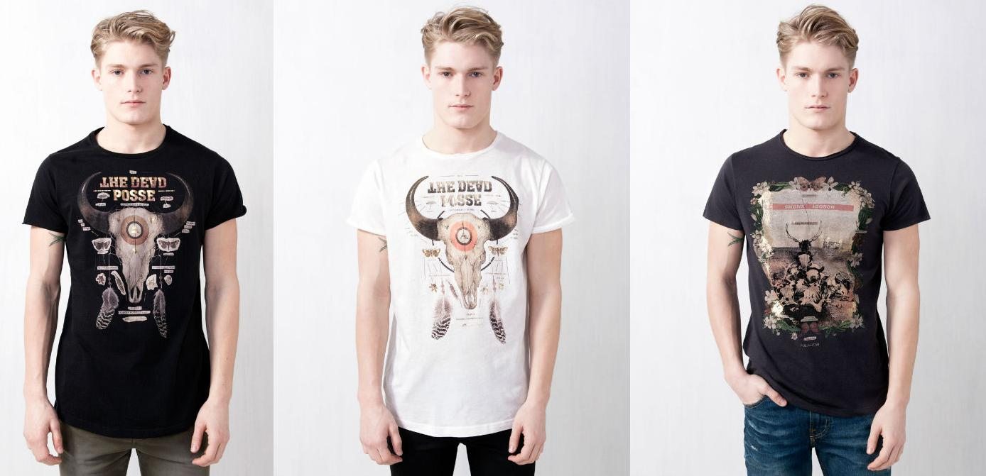 Camisetas Pull and Bear primavera verano 2013