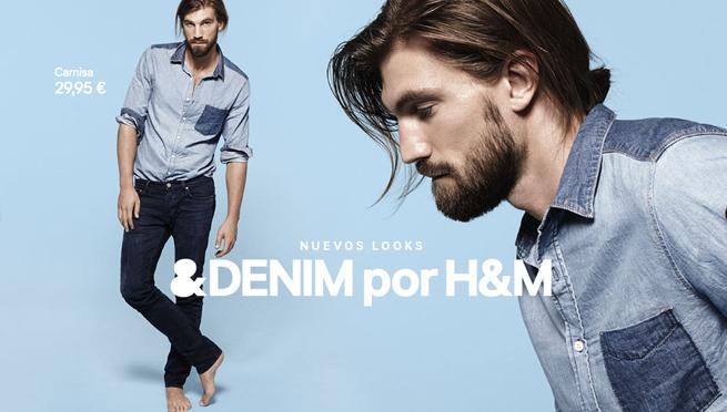 Moda denim para hombre de H&M