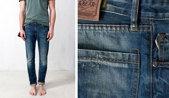 Jeans y camisetas ecológicas de Pull and Bear