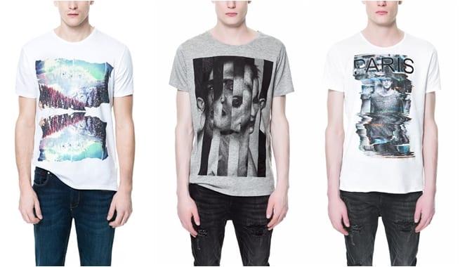 Camisetas de Zara Primavera Verano 2013