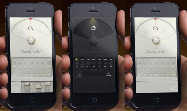 Entérate sobre el pronóstico del tiempo a través de aplicaciones para smartphons