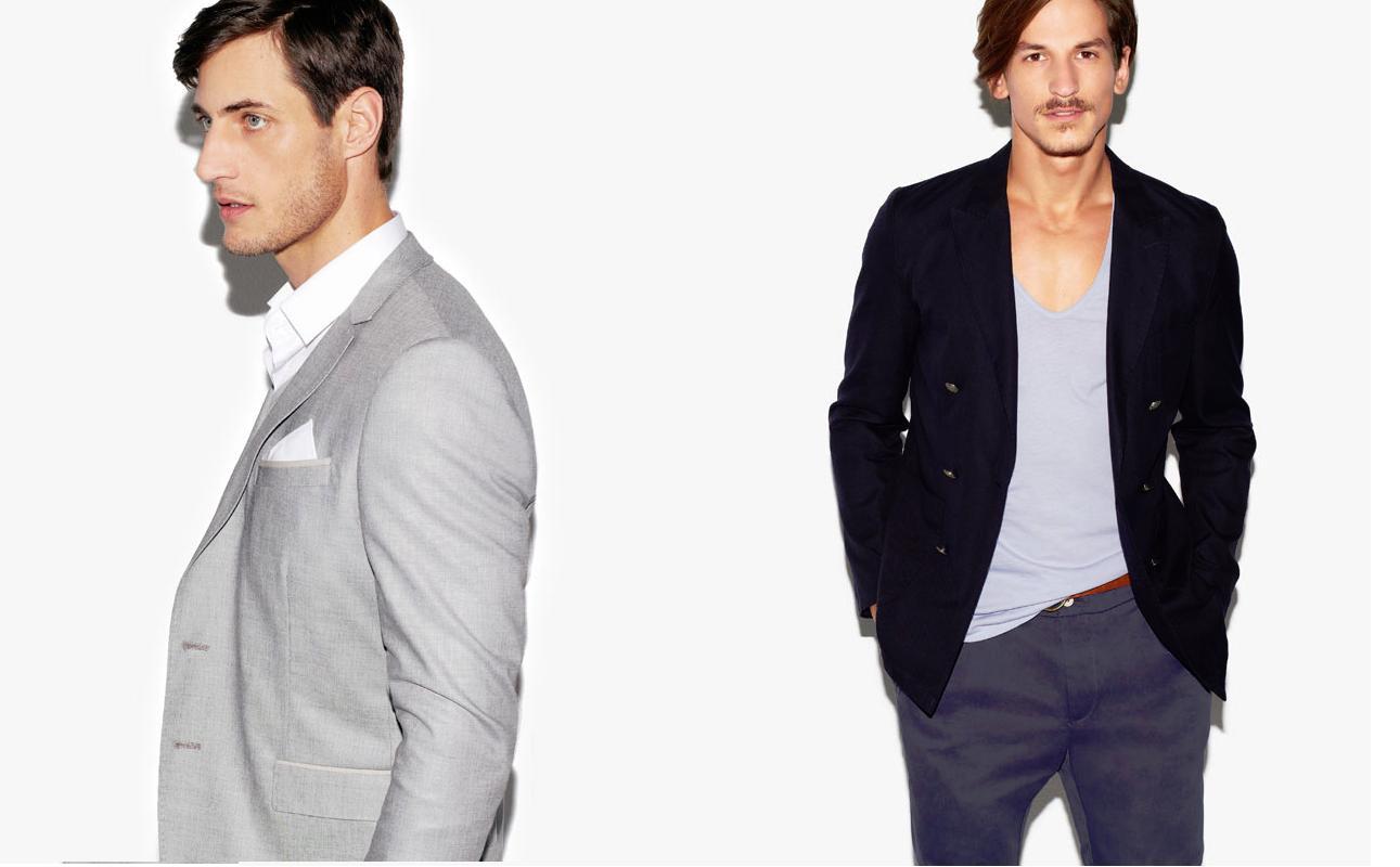 Zara hombre Primavera 2013 Colores simples y diseños elegantes