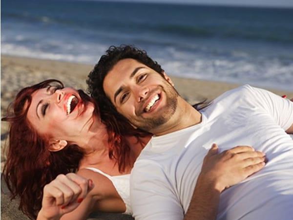 La risa a la hora de encontrar pareja