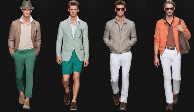 Moda masculina Primavera Verano 2013 de Hugo Boss